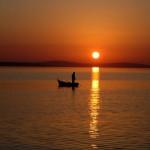 ribolov uz zalazak sunca